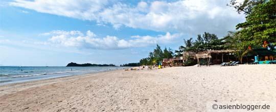 klong dao beach koh lanta - Schöner flach abfallender Strand geeignet für Familien mit Kindern