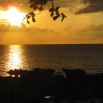Sonnenuntergang an der Relax Bay